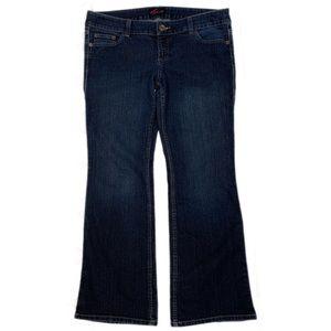 Torrid Dark Wash Bootcut Jeans 52R-4829 Size 14